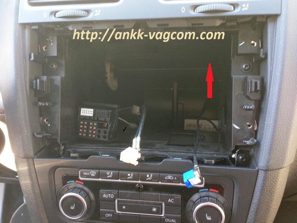 Golf 6 5k Installation Du Rns 510 Ankk Vagcom