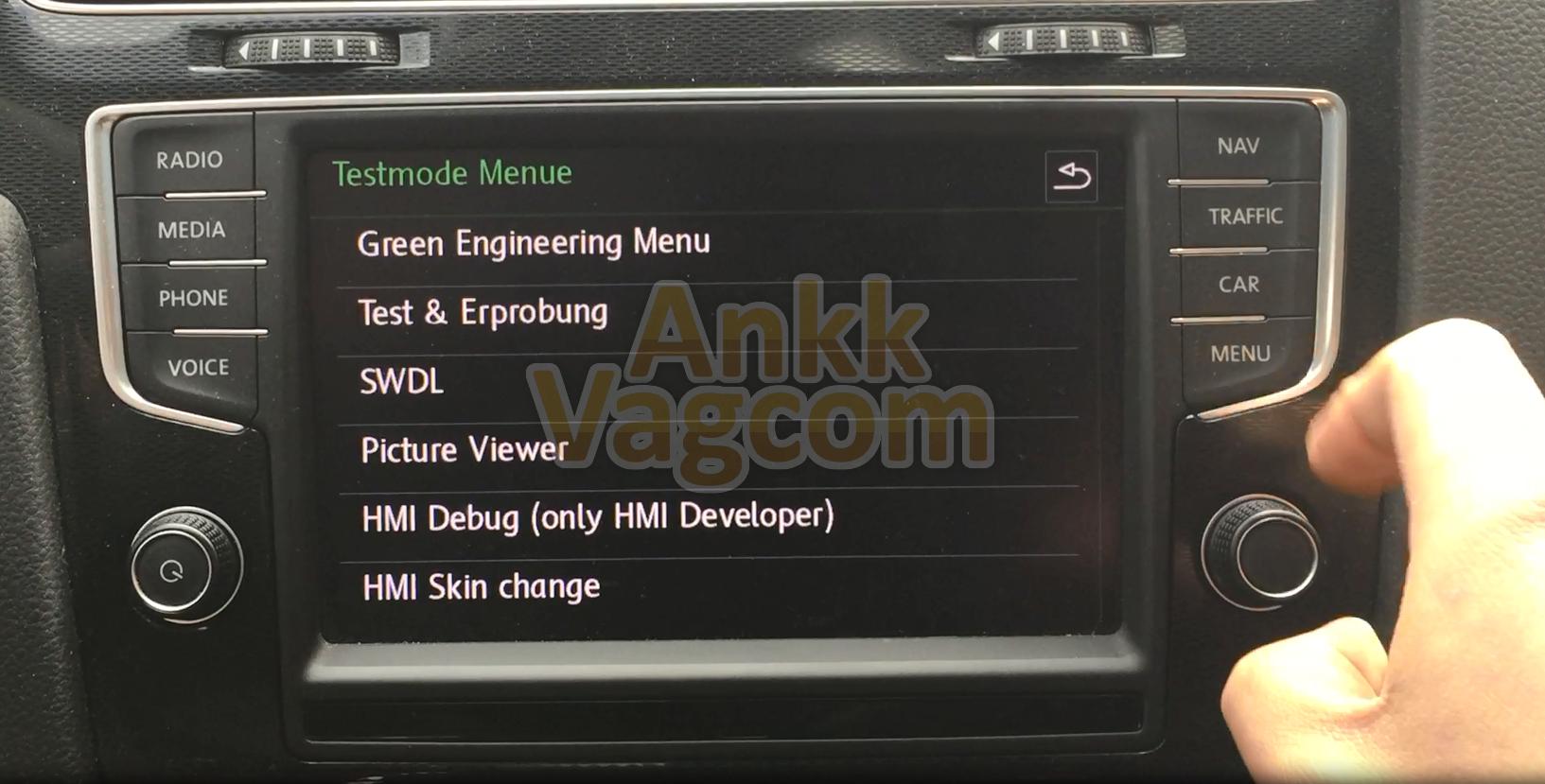Ankk vagcom_vw_discover_pro_mib1_gte_testmode_menue ankk vagcom_vw_discover_pro_mib1_gte_green_engineering_menu