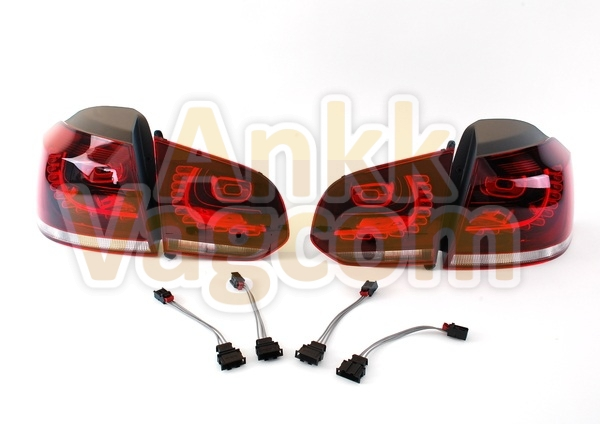 golf 6 5k installation feux arri res led ankk vagcom. Black Bedroom Furniture Sets. Home Design Ideas