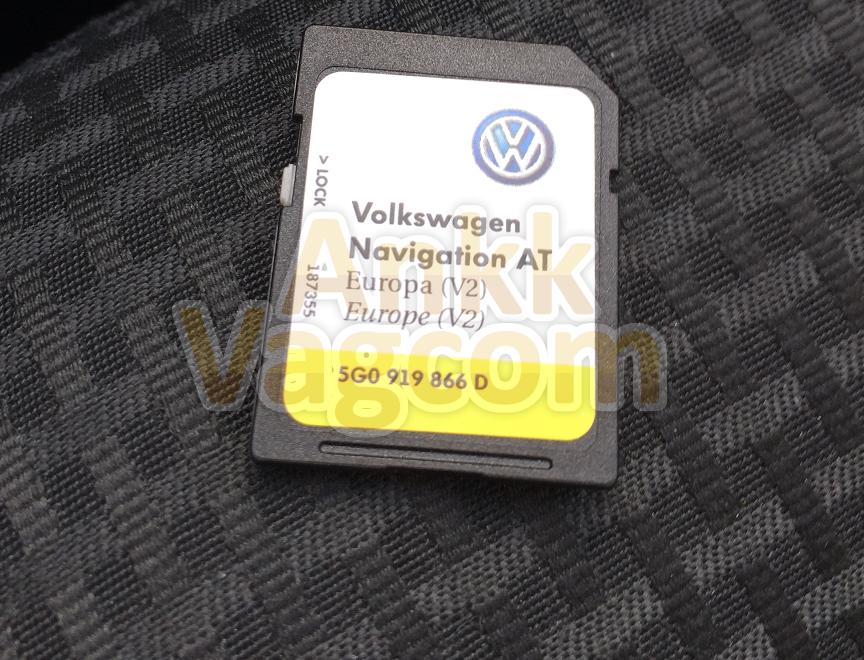 comment mettre a jour carte sd gps volkswagen Discover Media (MIB1) – Installation des mises à jour de la